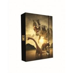 Dosky A5 školské + BOX KARTON Jumbo T-rex