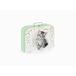 Kufrík KARTON lamino 34cm mačka