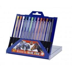 Ceruzky KOH-I-NOOR 4012/12 farebné SCALA v plaste