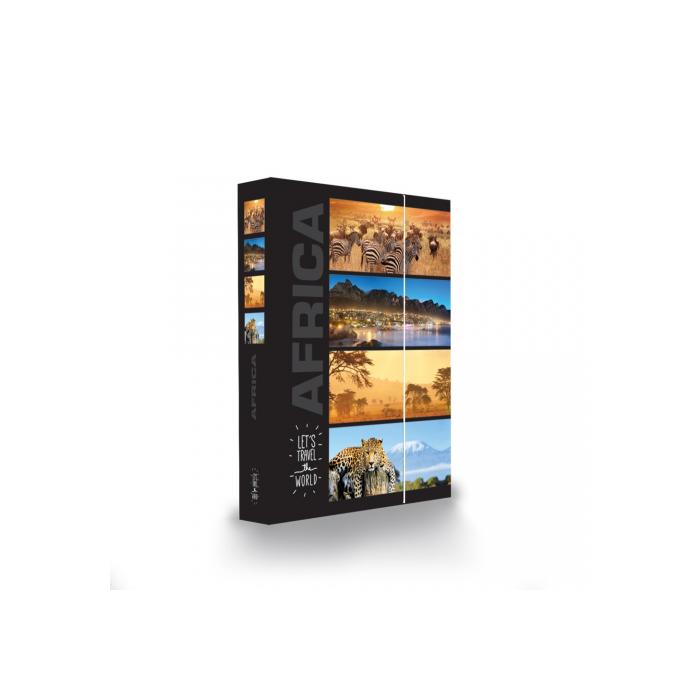Dosky A4 školské + BOX KARTON Jumbo Afrika