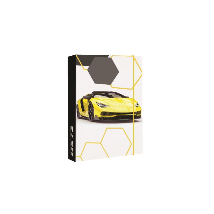 Dosky A4 školské + BOX KARTON Jumbo Auto 2