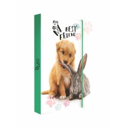 Dosky A4 školské + BOX KARTON Jumbo Pets