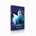 Dosky A4 školské + BOX KARTON Jumbo Unicorn 1