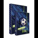 Dosky A4+A5 školské + BOX KARTON Fotbal
