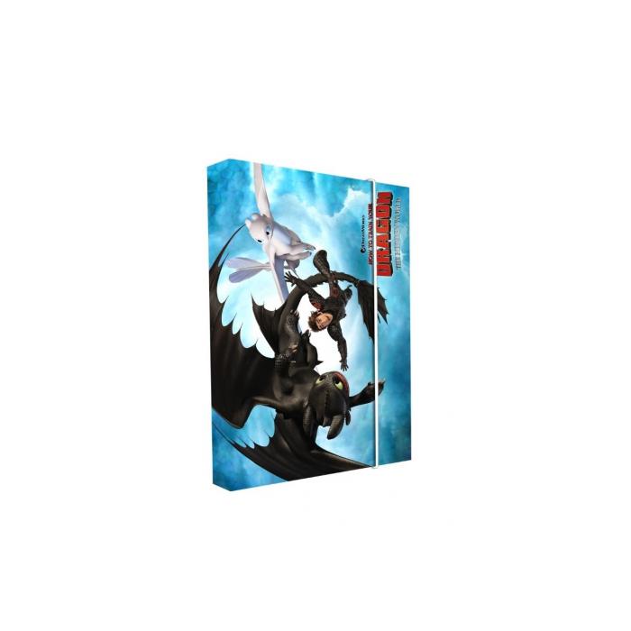 Dosky A5 školské + BOX KARTON Ako vycvičit draka