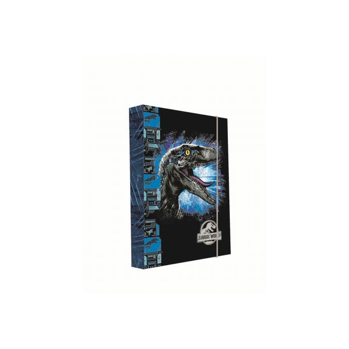 Dosky A5 školské + BOX KARTON Jurassic World 2