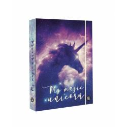 Dosky A5 školské + BOX KARTON Unicorn dream