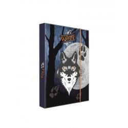 Dosky A5 školské + BOX KARTON Vlk