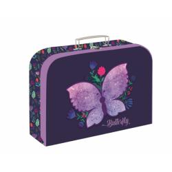 Kufrík KARTON lamino 34cm Motýľ