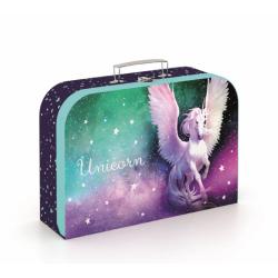 Kufrík KARTON lamino 34cm Unicorn
