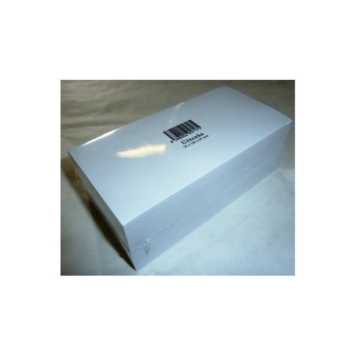 Blok poznámkový špalík lepený 7x14x5 cm biely