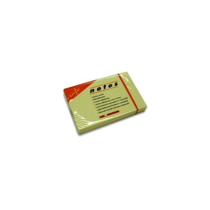 Blok samolepiaci 50x75/100ls. žltý