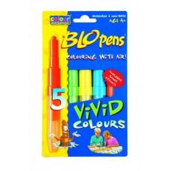 Centropen 1500/ 5 farebné fúkacie fixky VIVID