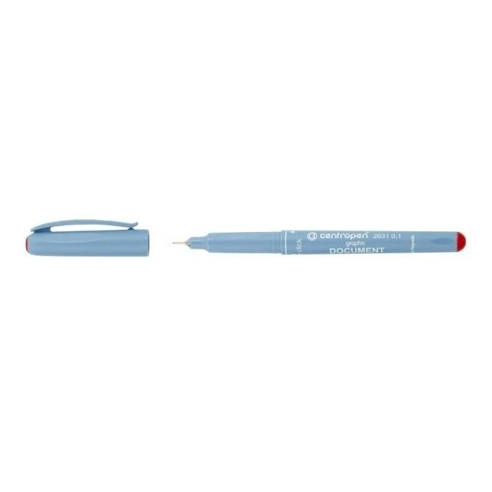 Centropen 2631 0,1 DOCUMENT liner červený