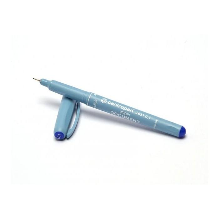 Centropen 2631 0,1 DOCUMENT liner modrý