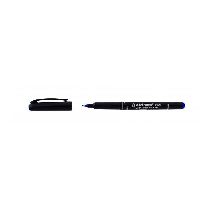 Centropen 2636 F 0,6 popisovač permanent modrý