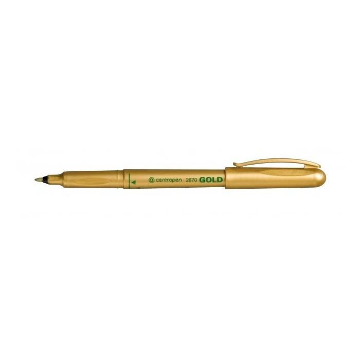 Centropen 2670 1,0 značkovač zlatý