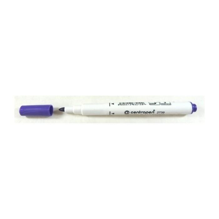 Centropen 2739 1,8 značkovač na textil fialový