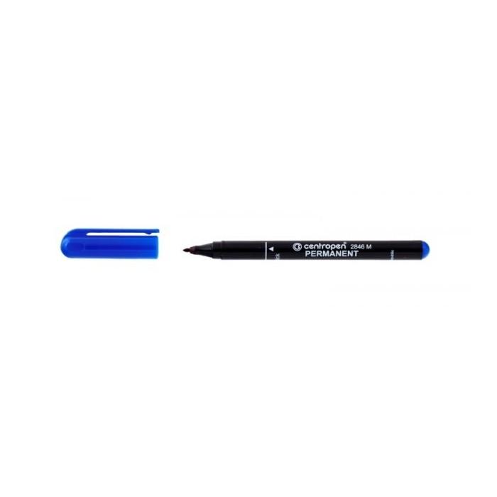 Centropen 2846 1,0 popisovač permanent modrý