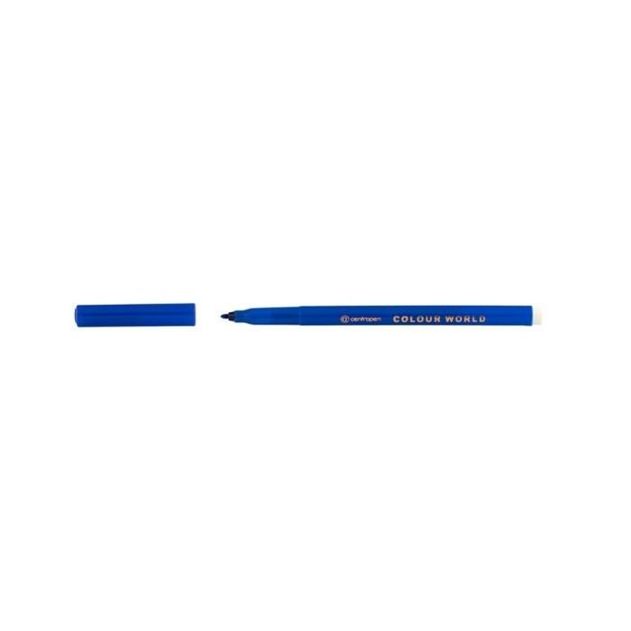 Centropen 7550 1,0 popisovač modrý