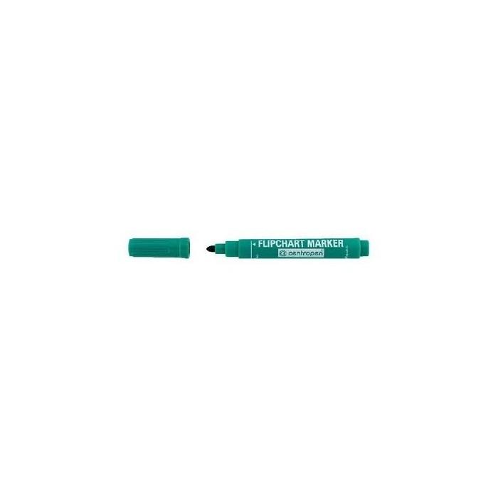 Centropen 8550 značkovač zelený na flipchartové bloky