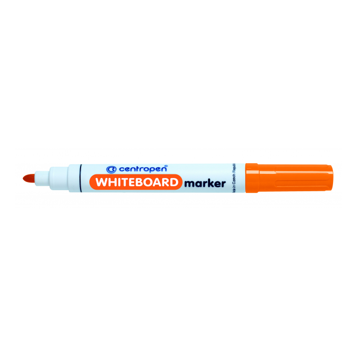 Centropen 8559 značkovač oranžový na stierateľné biele tabule
