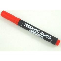 Centropen 8566 značkovač permanent 2,5 mm červený