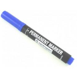 Centropen 8566 značkovač permanent 2,5 mm modrý