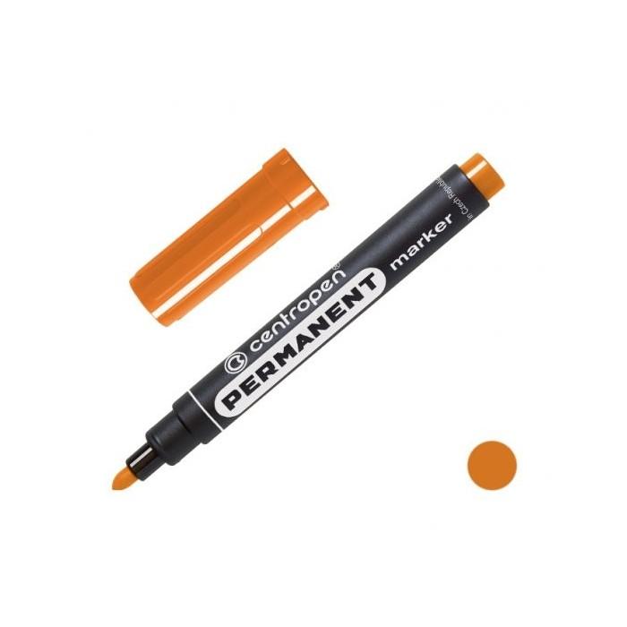 Centropen 8566 značkovač permanent 2,5 mm oranžový