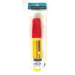 Centropen 9120 značkovač kriedový JUMBO červený