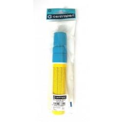Centropen 9120 značkovač kriedový JUMBO modrý