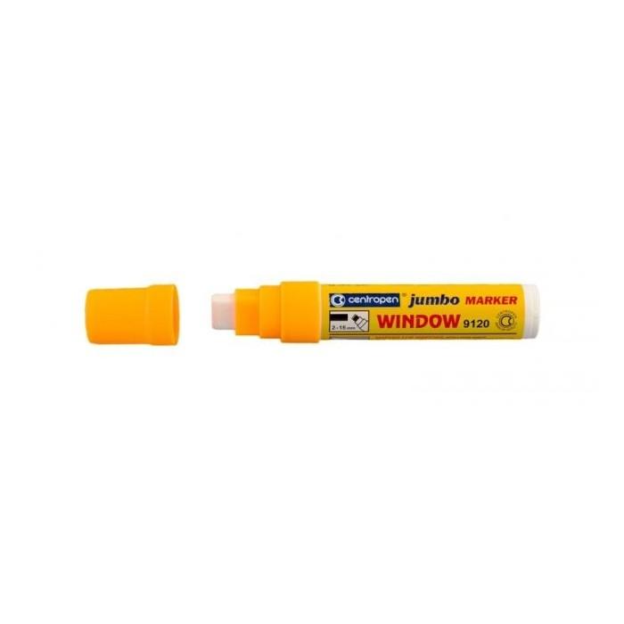 Centropen 9120 značkovač kriedový JUMBO oranžový