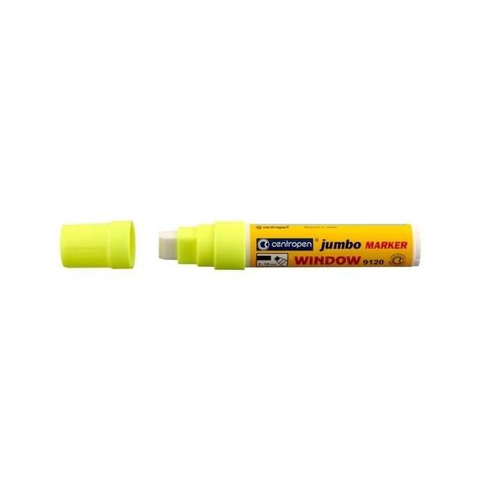 Centropen 9120 značkovač kriedový JUMBO žltý