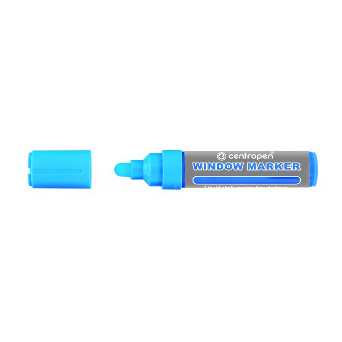 Centropen 9121 značkovač kriedový modrý