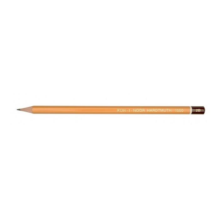 Ceruzka KOH-I-NOOR 1500 2B technická, grafitová