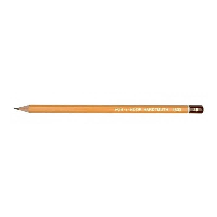 Ceruzka KOH-I-NOOR 1500 4B technická, grafitová