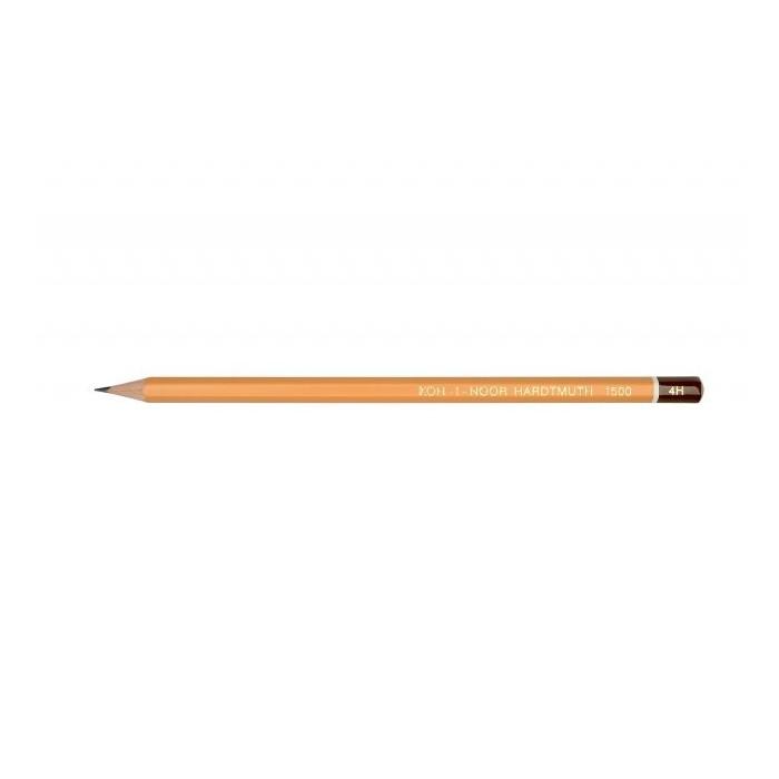 Ceruzka KOH-I-NOOR 1500 4H technická, grafitová