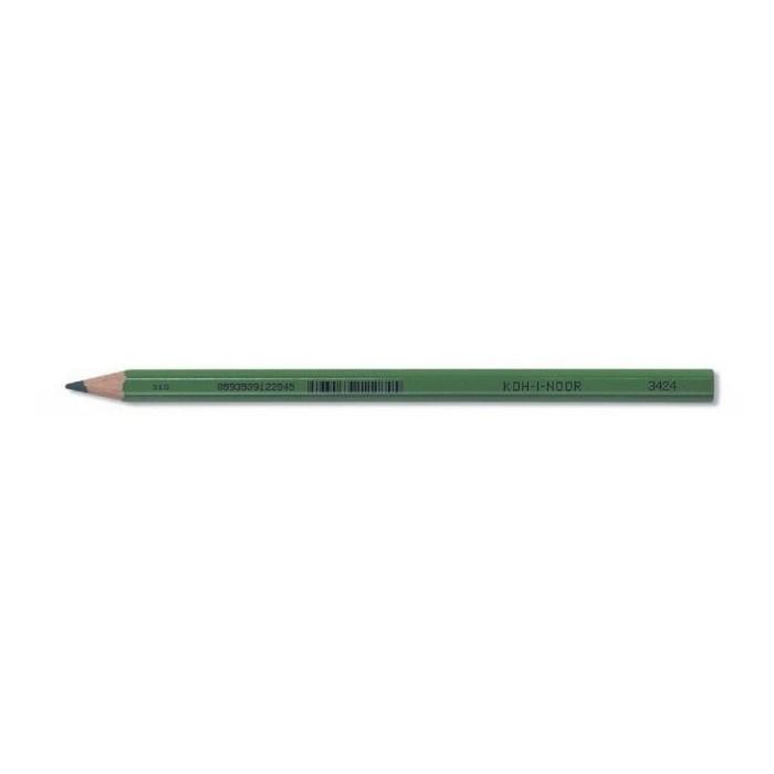 Ceruzka KOH-I-NOOR 3424 F zelená priemer tuhy 9mm - D