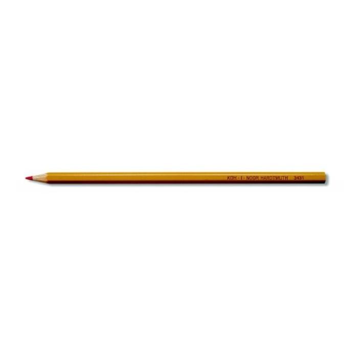 Ceruzka KOH-I-NOOR 3431 G červená