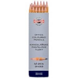 Ceruzka KOH-I-NOOR 3433 EG červeno-modrá