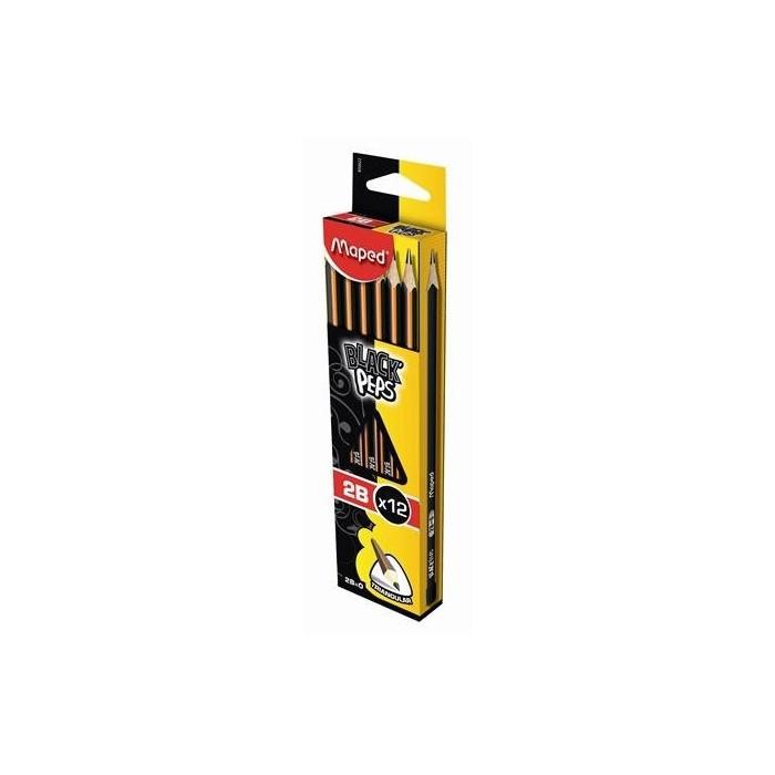 Ceruzka MAPED Black Peps 2B