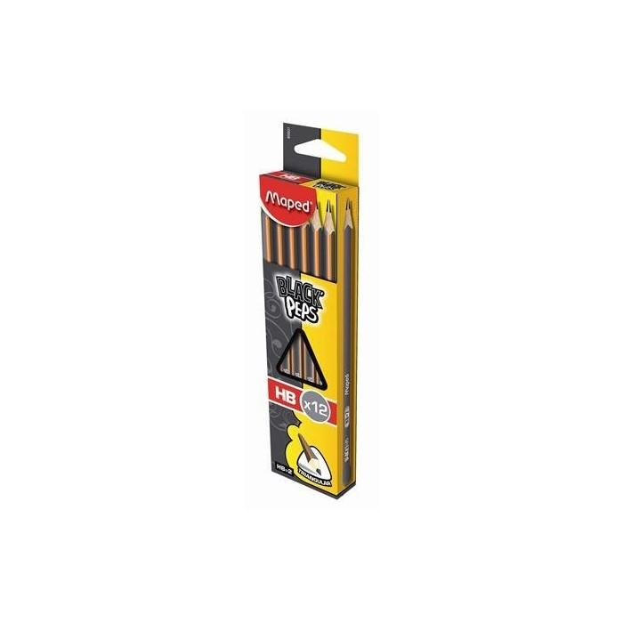 Ceruzka MAPED Black Peps HB