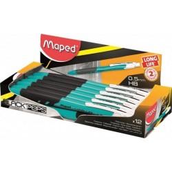 "Ceruzka mechanická 0,5mm, MAPED ""Long Life"", modrá"