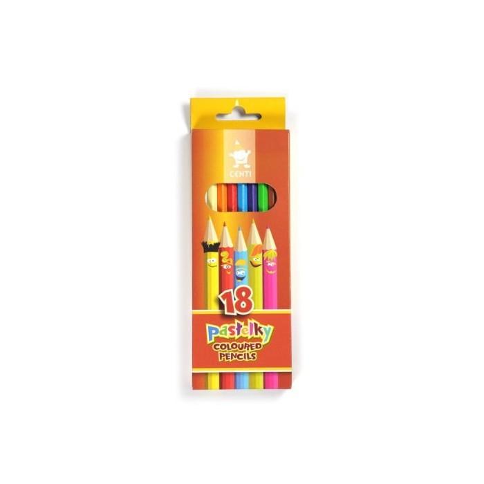 Ceruzky KOH-I-NOOR 2143/18 farebná súprava v kartóne