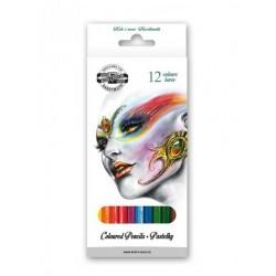 Ceruzky KOH-I-NOOR 3552/12 farebná súprava v kartóne FANTAZIA