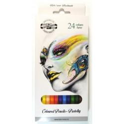 Ceruzky KOH-I-NOOR 3554/24 farebné súprava FANTAZIA