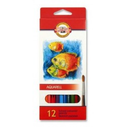 Ceruzky KOH-I-NOOR 3716/12 farebná súprava akvarel