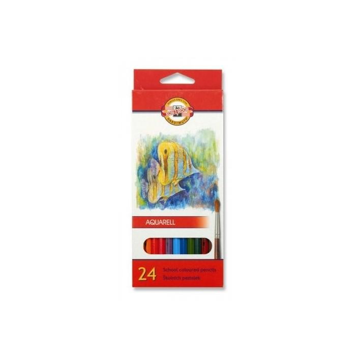 Ceruzky KOH-I-NOOR 3718/24 farebná súprava akvarel