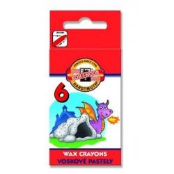 Ceruzky KOH-I-NOOR 8231/ 6 farebné voskové
