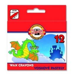 Ceruzky KOH-I-NOOR 8232/12 farebné voskové